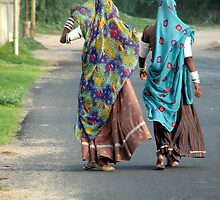 Indian Ladies by Bhaskar Dutta
