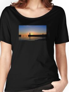 Donagadee Sunrise Women's Relaxed Fit T-Shirt