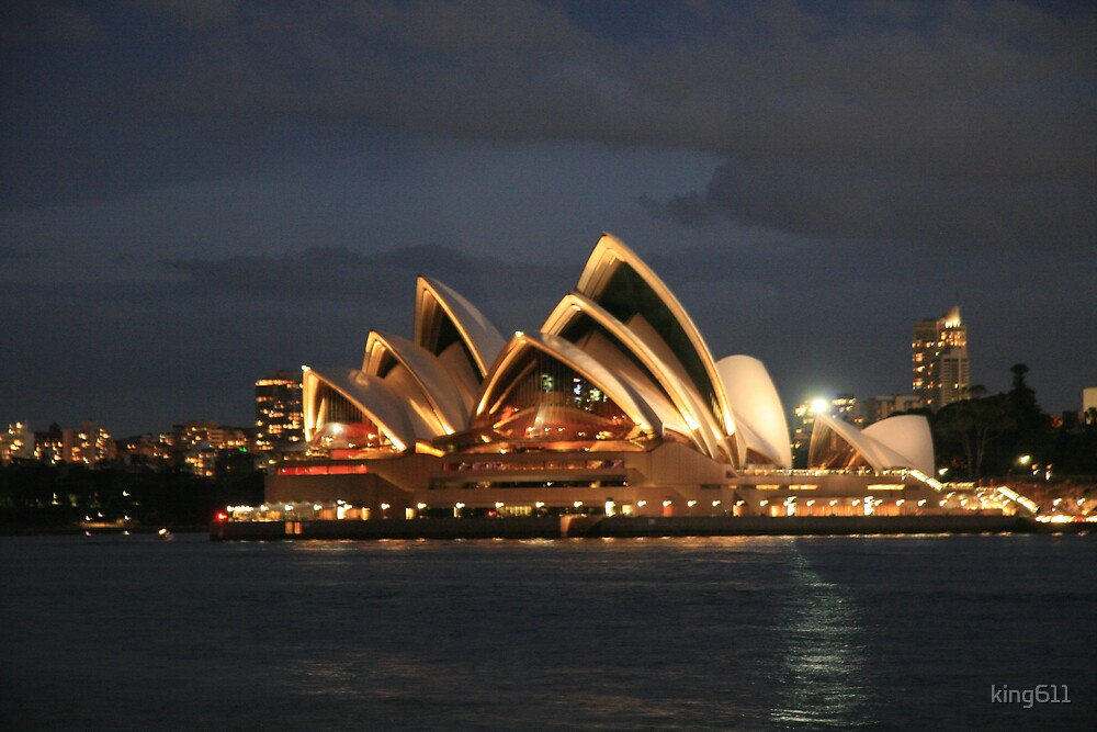 Opera House at Night by king611