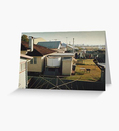 Backyards of Kempsey Greeting Card