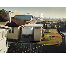 Backyards of Kempsey Photographic Print