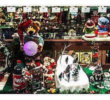 A Coke for Santa Photographic Print