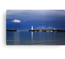 The Little White Cloud Canvas Print