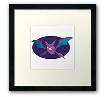 Crobat - 2nd Gen Framed Print