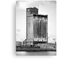 Grain Silo, Belfast Docks Canvas Print