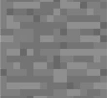 Minecraft Stone Block by alekswinter