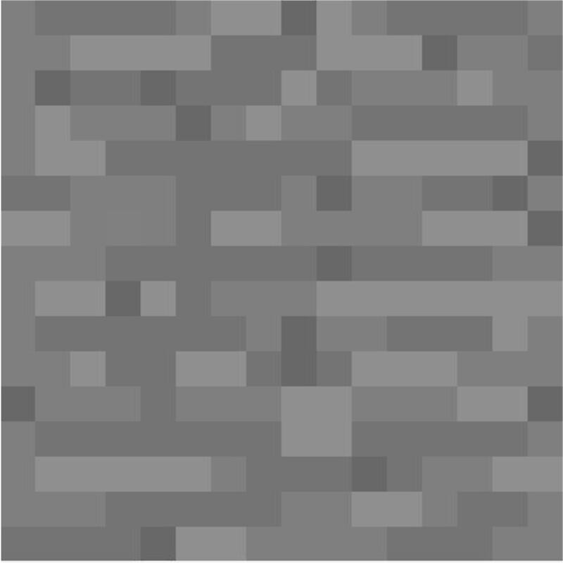 u0026quot;Minecraft Stone Blocku0026quot; Posters by alekswinter : Redbubble