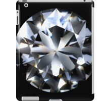 Diamond (black) iPad Case/Skin
