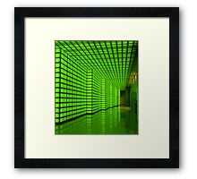 The Green Room Framed Print