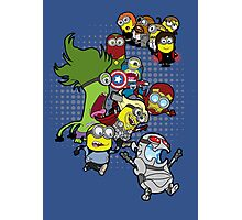Minions Assemble Age of Mintron Photographic Print
