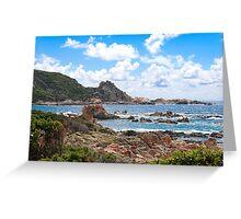 Campo Moro Corsica Greeting Card