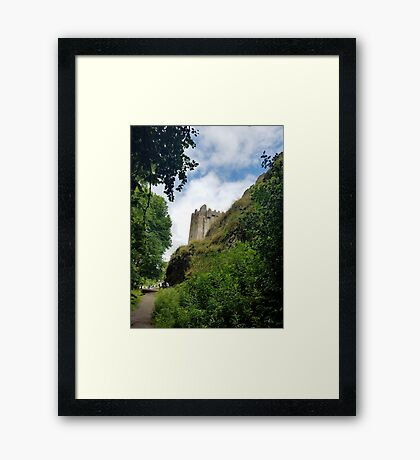 Blarney Castle and Caves Framed Print