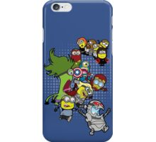 Minions Assemble Age of Mintron iPhone Case/Skin