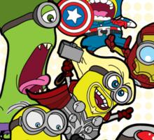 Minions Assemble Age of Mintron Sticker