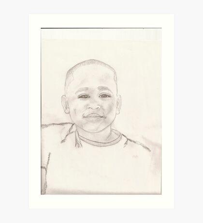 Justin Art Print