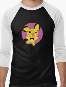 Pichu - 2nd Gen Men's Baseball ¾ T-Shirt