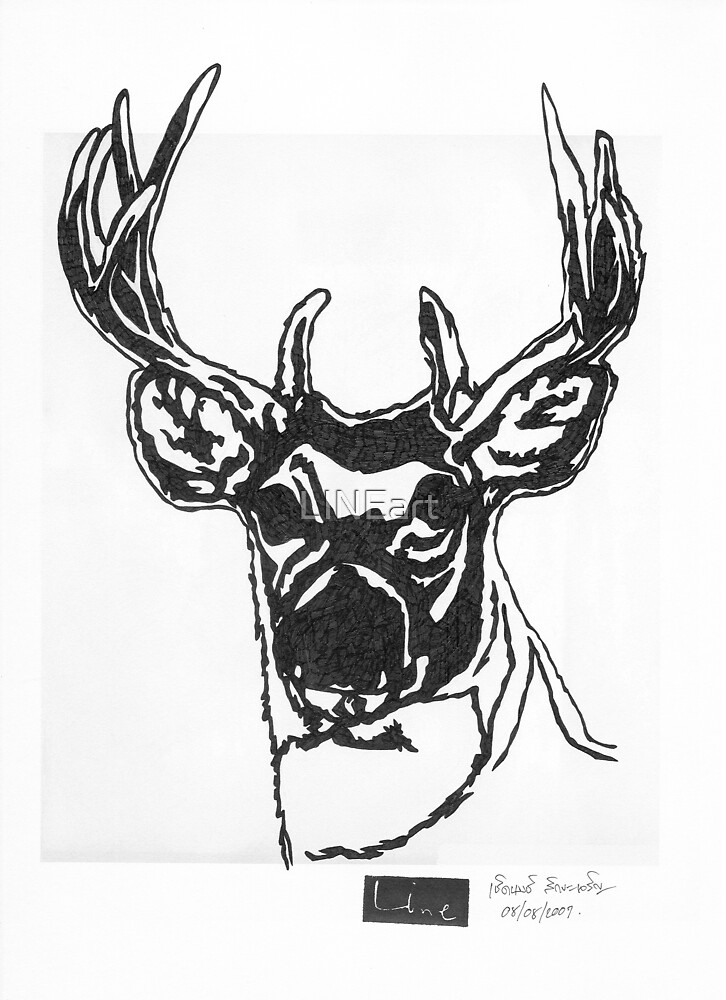 LINE : Brother Deer. by LINEart