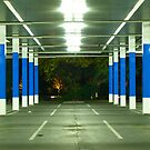 blue poles # 1 by mick8585