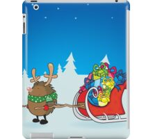 rudolph the red nosed hedgehog iPad Case/Skin