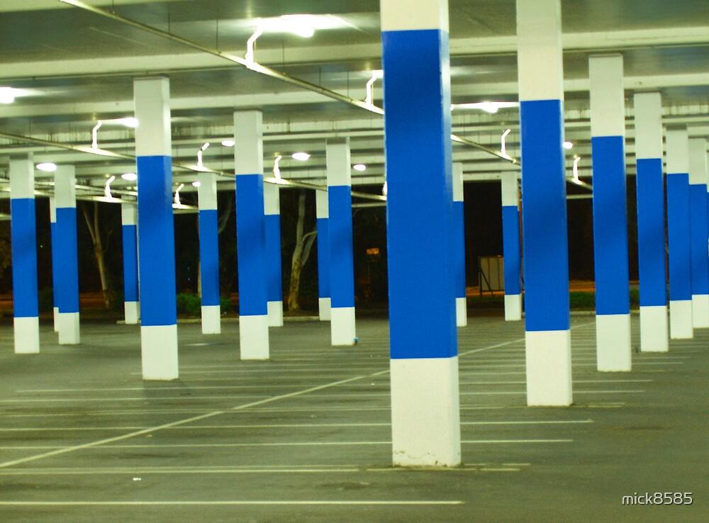 blue poles # 2 by mick8585