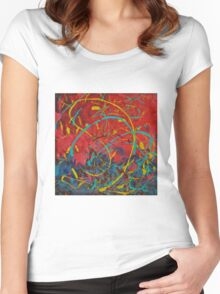 Windy Day Women's Fitted Scoop T-Shirt