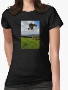A Tree With A View Womens Fitted T-Shirt