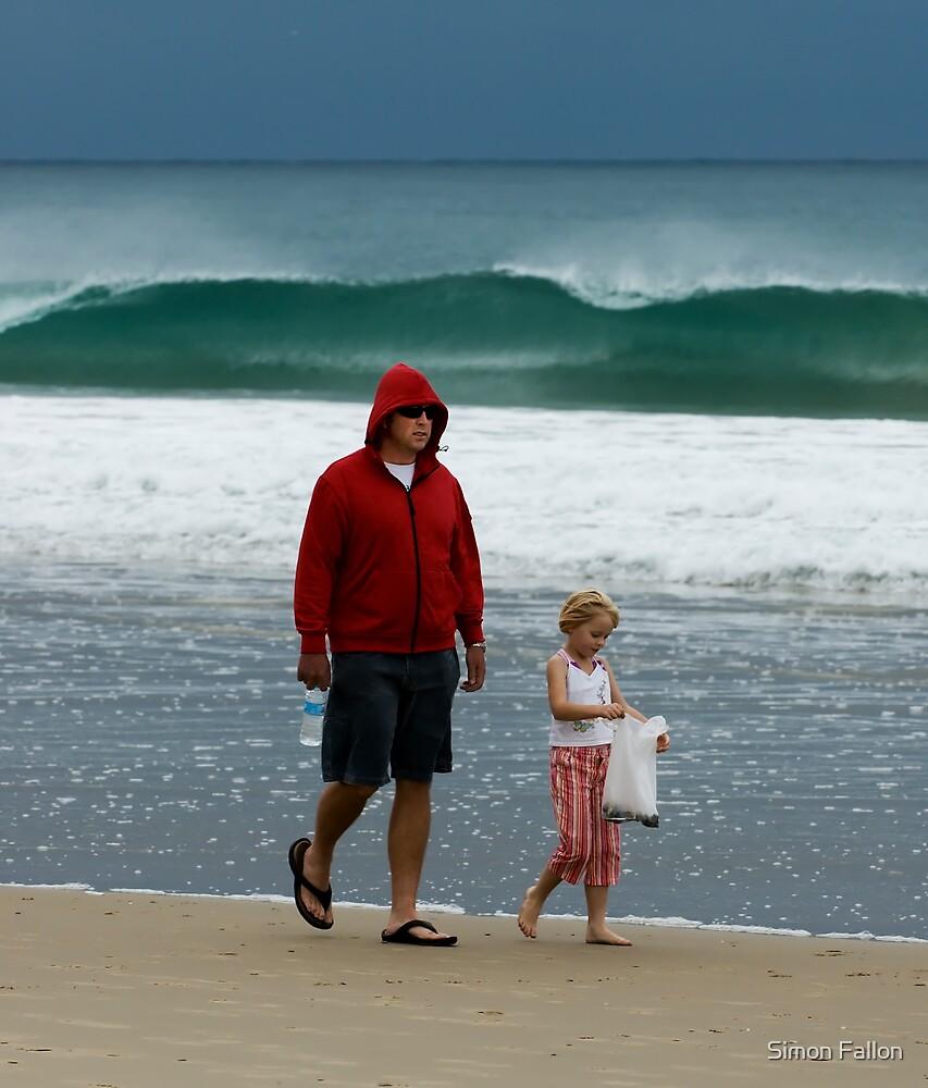Beachcombing by Simon Fallon