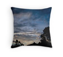Barn Bluff Throw Pillow