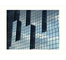 Glass Building I Art Print