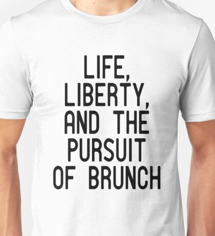 Funny Brunch T Shirt Unisex T-Shirt