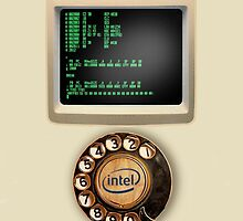 The iNTEL Phone! by atheistcards