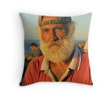 George the Greek Throw Pillow