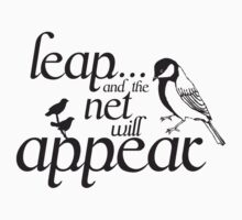 leap tee by Narelle Craven