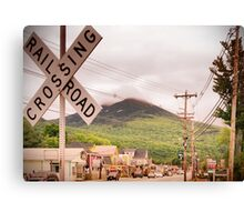 Use Caution When Crossing Canvas Print