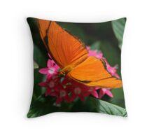 butterfly nectar Throw Pillow