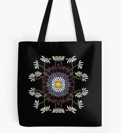 Daisy Mandala Tote Bag