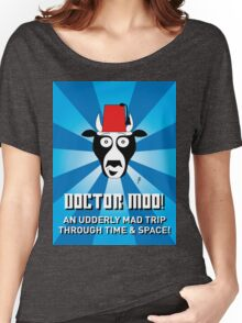 DOCTOR MOO Women's Relaxed Fit T-Shirt