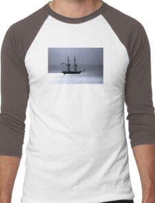 Tall Ship Royalist Mono Men's Baseball ¾ T-Shirt
