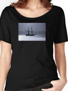 Tall Ship Royalist Mono Women's Relaxed Fit T-Shirt