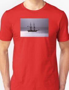 Tall Ship Royalist Mono Unisex T-Shirt