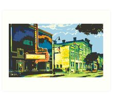 Rivoli & Washington House Inn - Cedarburg WI (bold) Art Print