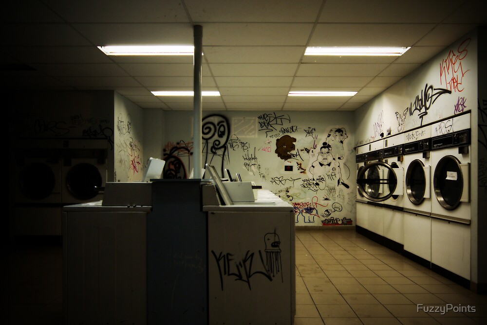 POST-LAUNDRETTE by FuzzyPoints