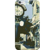 Armbruster Clock & Storefront - Cedarburg WI (muted) iPhone Case/Skin