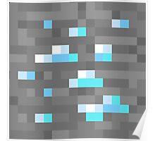 Minecraft Diamond Block Poster
