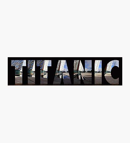 Titanic Museum Belfast Photographic Print