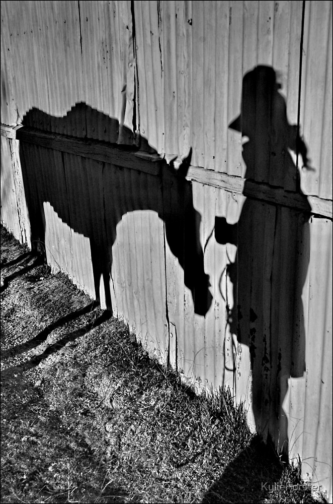 In shadow... by KylieForster