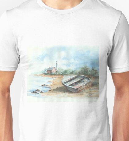 Tawas Point Light House Unisex T-Shirt