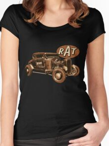 RAT - Nitro Women's Fitted Scoop T-Shirt