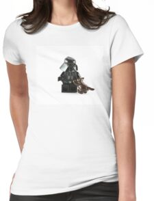 Darth Vader - Cat Lover Womens Fitted T-Shirt