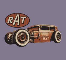 RAT - Route 66 Kids Tee